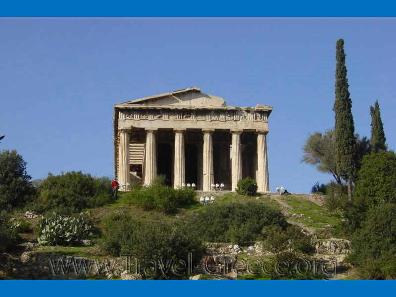Temple in the Agora - Athens-Attica - Greece