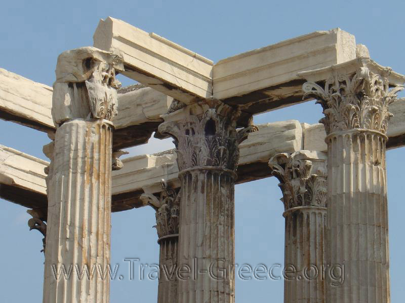 Temple of Olympian Zeus - Athens-Attica - Greece