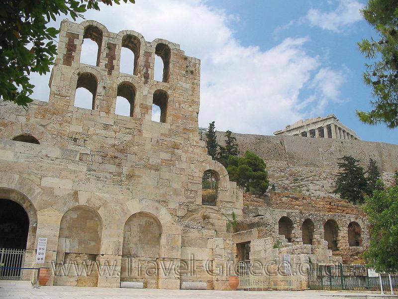 Herod Atticus Odeon - Athens - Greece