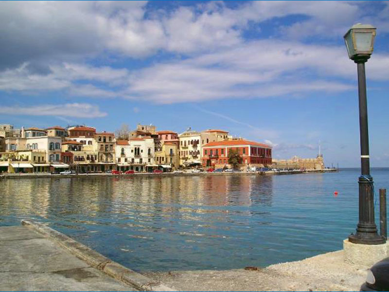 Chania old Port Town - Chania - Crete - Greece