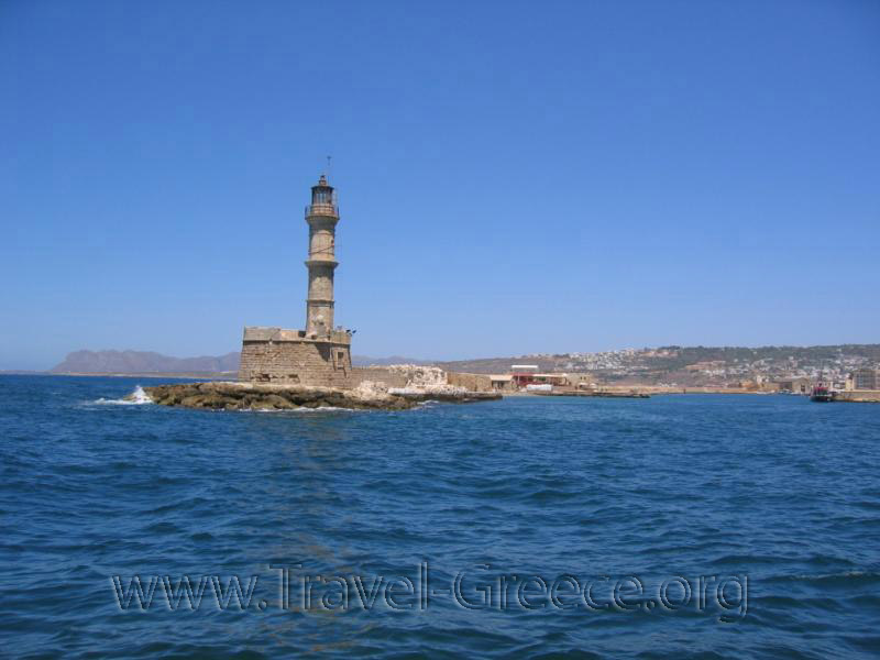 Hania Harbour - Chania Town - Chania - Crete - Greece