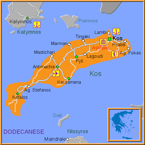 Map of kos gumiabroncs Gallery